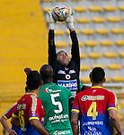 Equidad cayó 0-1 como local en el estadio Metropolitano de Techo ante Deportivo Pasto, en duelo de la fecha 18 de la Liga Águila 2015 - II