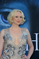 Gwendoline Christie at the season seven premiere for &quot;Game of Thrones&quot; at the Walt Disney Concert Hall, Los Angeles, USA 12 July  2017<br /> Picture: Paul Smith/Featureflash/SilverHub 0208 004 5359 sales@silverhubmedia.com