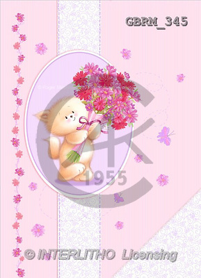 Roger, CUTE ANIMALS, paintings(GBRM345,#AC#) illustrations, pinturas ,everyday