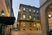 - Milan, headquarters of the investment bank Mediobanca in  Filodrammatici street and Cuccia square<br /> <br /> - Milano, sede della banca di affari Mediobanca in via Filodrammatici e piazzetta Cuccia