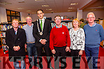 Pictured at the presentation by college students after a week long Charrette in Cahersiveen on Friday were l-r; Michael O'Connor(Caherdaniel), Michael Galvin(Caherdaniel), Mayor of South and West Kerry, Patrick O'Connor Scarteen, Ger O'Donoghue(Valentia, Noreen O'Sullivan(Librarian - Cahersiveen) & Gerry Enright(Cahersiveen).