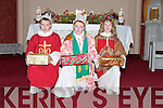 WISE MEN: Three Wise Men from Tarbert, Jason Walsh, Niall Foley and Jack Finucane, acting out the visit of the Three Wise Men in the stable at Bethlehem on the Feast of the Nativity (6th January) in St Marys Church, Tarbert.