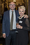 Matt and Carollyn Chaplin at the Greenbank 21 Year Reunion - Current and Past Parents, The Northern Club, Auckland, New Zealand,  Friday, August 04, 2017.Photo: David Rowland / One-Image.com for BW Media