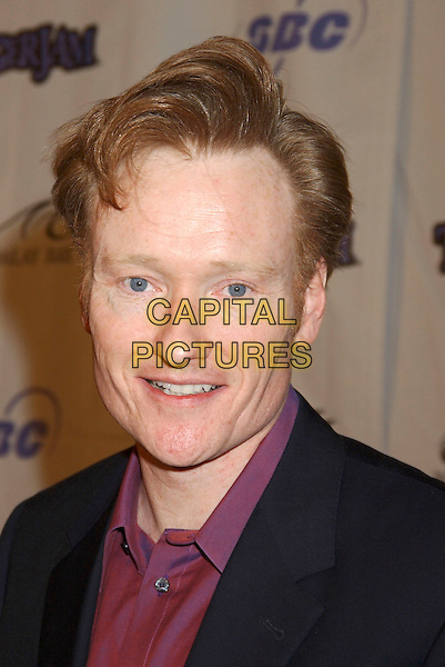 CONAN O'BRIEN.Tiger Jam VIII benefiting the Tiger Woods Foundation held at Mandalay Bay Resort & Casino, Las Vegas, Nevada.May 21st, 2005.Photo Credit: Laura Farr/AdMedia.headshot portrait.www.capitalpictures.com.sales@capitalpictures.com.© Capital Pictures.