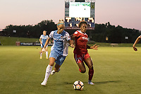 Boyds, MD - Saturday June 03, 2017: Rachel Daly, Francisca Ordega during a regular season National Women's Soccer League (NWSL) match between the Washington Spirit and Houston Dash at Maureen Hendricks Field, Maryland SoccerPlex.