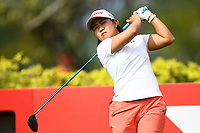 SINGAPORE - MARCH 02: Nasa Hataoka of Japan on the 3rd tee during the third round of the HSBC Women's World Championship 2019 at Sentosa Golf Club - Tanjong Course, Singapore on March 02, 2019.<br /> .<br /> .<br /> .<br /> (Photo by: Naratip Golf Srisupab/SEALs Sports Images)<br /> .<br /> Any image use must include a mandatory credit line adjacent to the content which should read: Naratip Golf Srisupab/SEALs Sports Images