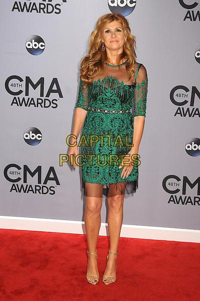 05 November 2013 - Nashville, Tennessee - Connie Britton. 47th CMA Awards, Country Music's Biggest Night, held at Bridgestone Arena. <br /> CAP/ADM/BP<br /> &copy;BP/ADM/Capital Pictures