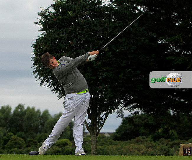 Aaron Lennie (Clandeboye) during R2 of the 2016 Connacht U18 Boys Open, played at Galway Golf Club, Galway, Galway, Ireland. 06/07/2016. <br /> Picture: Thos Caffrey | Golffile<br /> <br /> All photos usage must carry mandatory copyright credit   (&copy; Golffile | Thos Caffrey)