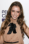 WEST HOLLYWOOD, CA. - October 12: Actress Lily Collins arrives at the 2008 Hollywood Life Style Awards at the Pacific Design Center on October 12, 2008 in West Hollywood, California.