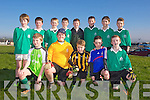 Allianz Cumann na mBunscol - St. Brendan's National school Fenit Team Front l-r Kieran Tuite, Maxwell Downing, Conor Lenihan, Niall Cassidy, Darragh Hyne, Back l-r  Conor Gaynor, Darrel O'Sullivan, Edward Stack, Darren Murphy, Micheal Dolan, Sean Clifford, Kevin Fynn, Sean Vieux in the  Prelimenary rounds of the Brendans Board mini sevens at Ballickrard Healy Park on Tuesday