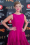 Belen Rueda attends red carpet of Goya Cinema Awards 2018 at Madrid Marriott Auditorium in Madrid , Spain. February 03, 2018. (ALTERPHOTOS/Borja B.Hojas)