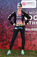 Emma Barton<br /> at the start of the London Marathon 2019, Greenwich, London<br /> <br /> ©Ash Knotek  D3496  28/04/2019
