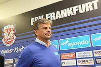11.04.2016: FSV Frankfurt stellt neuen Trainer Falko Götz vor