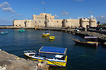 Citadel of Qaitbay in port of Alexandria