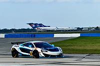 IMSA Continental Tire SportsCar Challenge<br /> Sebring February Test<br /> Sebring International Raceway, Sebring, Florida, USA<br /> Wednesday 21 February 2018<br /> #69 Motorsports In Action, McLaren GT4, GS: Corey Fergus, Jesse Lazare<br /> World Copyright: Richard Dole<br /> LAT Images