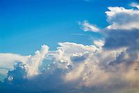 White clouds after the storm, Maria La Gorda Beach, Cuba.