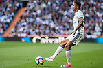 Danilo Luiz da Silva of Real Madrid during the match of  La Liga between Real Madrid and Deportivo Alaves at Bernabeu Stadium Stadium  in Madrid, Spain. April 02, 2017. (ALTERPHOTOS / Rodrigo Jimenez)
