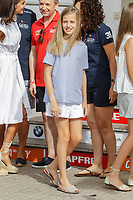 AUG 01 Spanish Royals visit Nautical Club in Palma de Mallorca