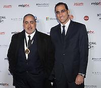 NEW YORK, NY - NOVEMBER 19: Jorge Salvador and Gonzalo Sagardia at the 40th International Emmy Awards in New York. November 19, 2012. © Diego Corredor/MediaPunch Inc. /NortePhoto