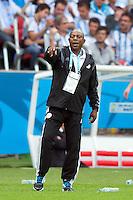 Nigeria manager Stephen Keshi