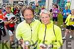 John O'Sullivan and Marie Kehoe-O'Sullivan, Beaufort in Caherciveen at the Ring of Kerry cycle on Saturday.