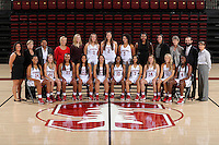Stanford Basketball W Team Photo, September 20, 2016