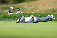 Charley Hoffman (USA) hits his approach shot on 12 during round 4 of the 2019 PGA Championship, Bethpage Black Golf Course, New York, New York,  USA. 5/19/2019.<br /> Picture: Golffile | Ken Murray<br /> <br /> <br /> All photo usage must carry mandatory copyright credit (© Golffile | Ken Murray)