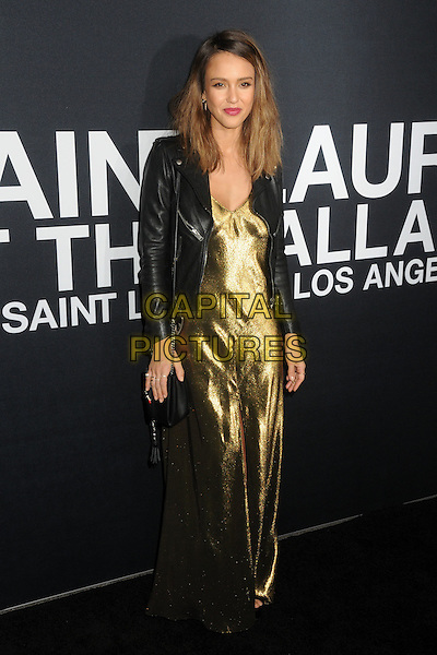 10 February 2016 - Los Angeles, California - Jessica Alba. Saint Laurent At The Palladium held at the Hollywood Palladium. <br /> CAP/ADM/BP<br /> &copy;BP/ADM/Capital Pictures