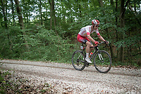 eventual race winner Kenneth Vanbilsen (BEL/Cofidis)<br /> <br />  Dwars door het Hageland 2019 (1.1)<br /> 1 day race from Aarschot to Diest (BEL/204km)<br /> <br /> ©kramon