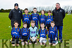 The Inter Kenmare team that played Mastergeeha in th u12 league clash in Mastergeeha on Saturday front l-r: Yago Cornide, conor Hennessy, Eoghan mcCarthy, Cathal Murphy, Timothy O'Donoghue. Back row: Thomas O'sullivan, Aidan Crowley, Adam Gul, Johnny de Wouters, Conall Wilson and John Granville