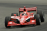 19 July 2008: Dan Wheldon (XEN) at the Honda Indy 200 IndyCar race at the Mid-Ohio Sports Car Course, Lexington, Ohio, USA.