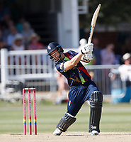 Sean Dickson bats for Kent during the Vitality Blast T20 game between Kent Spitfires and Gloucestershire at the St Lawrence Ground, Canterbury, on Sun Aug 5, 2018