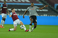 Conor Coventry of West Ham United  during West Ham United vs Charlton Athletic, Caraboa Cup Football at The London Stadium on 15th September 2020