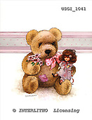 GIORDANO, CUTE ANIMALS, LUSTIGE TIERE, ANIMALITOS DIVERTIDOS, Teddies, paintings+++++,USGI1041,#AC# teddy bears