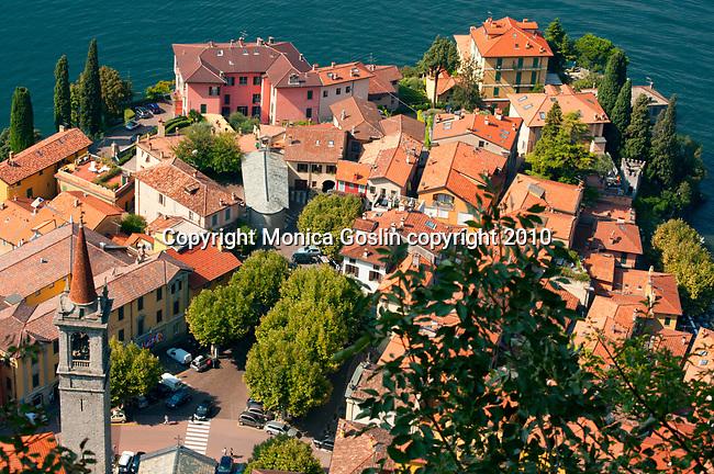 Varenna, Italy on Lake Como