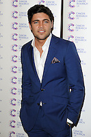 Tom Pearce arriving at James' Jog On To Cancer Event, Kensington Roof Gardens, London. 09/04/2014 Picture by: Alexandra Glen / Featureflash