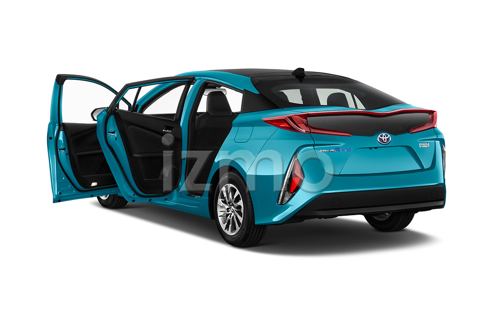 Car images close up view of a 2017 Toyota Prius Plug-in Hybride Solar 5 Door Hatchback doors