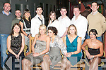 27TH BIRTHDAY: Maeve Frawley, Racecourse Heights celebrating her 27th birthday with family and friends at Tequila's restaurant on Saturday seated l-r: Ezena Prenderville, Tara and Maeve Frawley, Louise O'Sullivan and Cheryl Ryan. Back l-r: Shane Flynn, Philip Navan, Sean O'Meara, Chris Bentley, Michelle McGuire, Kenneth Bentley, Mark Lyons and Arthur Kelly..   Copyright Kerry's Eye 2008