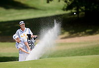 NWA Democrat-Gazette/CHARLIE KAIJO Nasa Hataoka pitches a ball over a bunker on hole seven during the second round of the NW Arkansas LPGA Championship, Saturday, June 23, 2018 at the Pinnacle Country Club in Rogers.