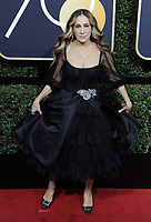 www.acepixs.com<br /> <br /> January 7 2018, LA<br /> <br /> Sarah Jessica Parker arriving at the 75th Annual Golden Globe Awards at The Beverly Hilton Hotel on January 7, 2018 in Beverly Hills, California.<br /> <br /> By Line: Peter West/ACE Pictures<br /> <br /> <br /> ACE Pictures Inc<br /> Tel: 6467670430<br /> Email: info@acepixs.com<br /> www.acepixs.com
