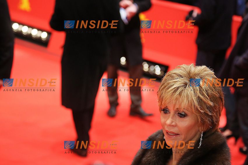 Jane Fonda. Berlin 08/02/2013. 63th Berlinale 'The Promised Land' Premiere . foto Mark Cape/Insidefoto