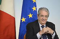 Roma, 9 Agosto 2013<br /> Palazzo Chigi<br /> Il premier Enrico Letta presenta il piano industriale 2013-2015 della Cassa Depositi e Prestiti con Fabrizio Saccomanni, Ministro dell'Economia.