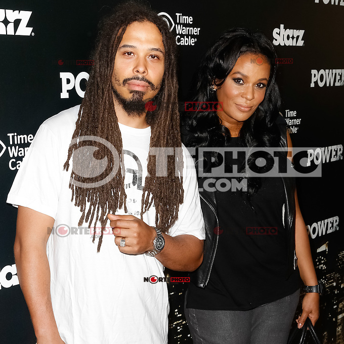 New York, NY -  June 2 : Beverly Bonds and her husband Bazaar Royal attend the Power Premiere held at the Highline Ballroom on June 2, 2014 in New York City. Photo by Brent N. Clarke / Starlitepics