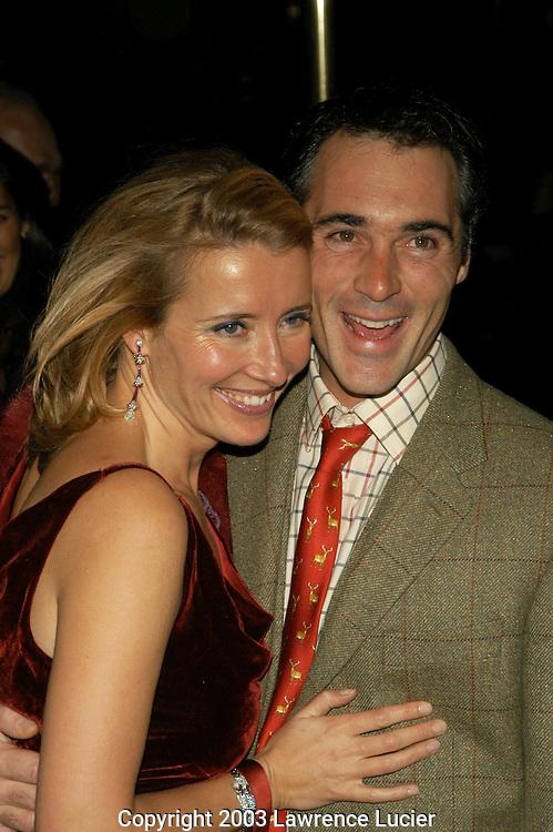 Emma Thompson and husband Greg Wise