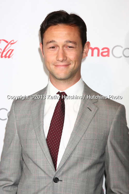 LAS VEGAS - APR 18:  Joseph Gordon-Levitt in the CinemaCon Big Scrren Achievement Awards  press room at the Caesars Palace on April 18, 2013 in Las Vegas, NV