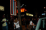 Ashley Simpson leaving the Roxy in HOllywood.Exclusive