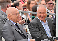 LOS ANGELES, CA. June 07, 2019: Alan Arkin & Matthew Arkin at the Hollywood Walk of Fame Star Ceremony honoring Alan Arkin.<br /> Pictures: Paul Smith/Featureflash
