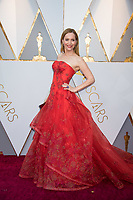 Leslie Mann arrives on the red carpet of The 90th Oscars&reg; at the Dolby&reg; Theatre in Hollywood, CA on Sunday, March 4, 2018.<br /> *Editorial Use Only*<br /> CAP/PLF/AMPAS<br /> Supplied by Capital Pictures