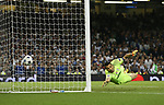 Gianluigi Buffon of Juventus beaten by the deflected shot of Casemiro of Real Madrid during the Champions League Final match at the Millennium Stadium, Cardiff. Picture date: June 3rd, 2017.Picture credit should read: David Klein/Sportimage