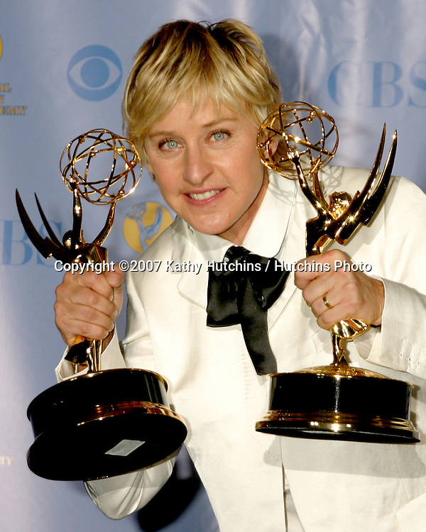 Ellen DeGeneres.Daytime Emmys 2007.Kodak Theater.Los Angeles, CA.June 15, 2007.©2007 Kathy Hutchins / Hutchins Photo....